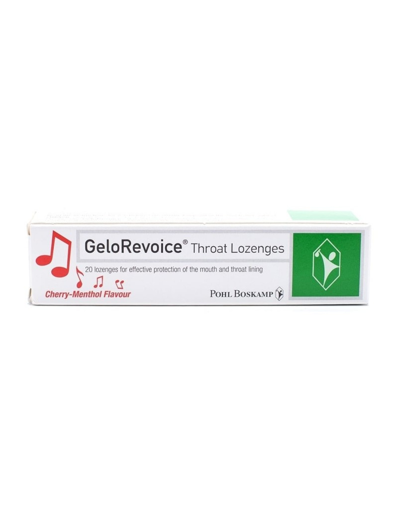 GeloRevoice Throat Lozenges Cherry-Menthol