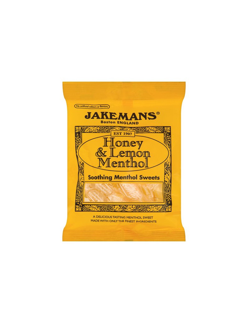 Jakemans Honey and Lemon