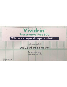 Vividrin SDU Sterile Eye Drop