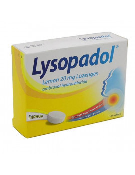 Lysopadol lemon 20Mg Lozenges
