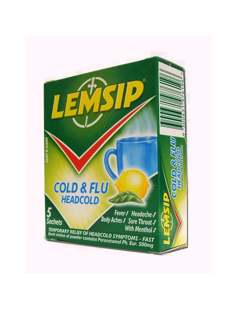 Lemsip Headcold Cold and Flu