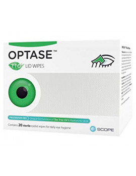 Optase Tea Tree Wipes