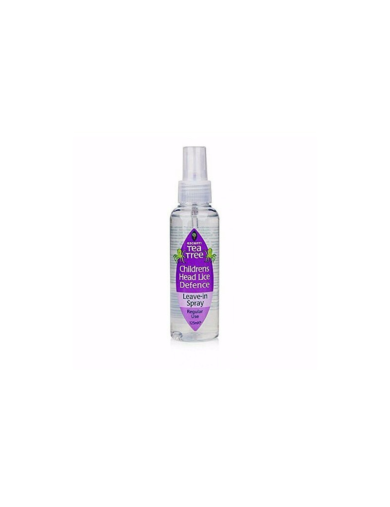 Escenti Tea Tree Childrens Head Lice Defense Spray