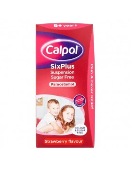 Calpol Six Plus Sugar Free