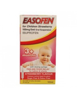 Easofen Children 3+ Months Strawberry