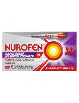 Nurofen Liquid Capsules 400mg