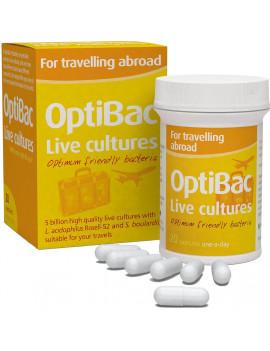 OptiBac Probiotics - For Travelling abroad