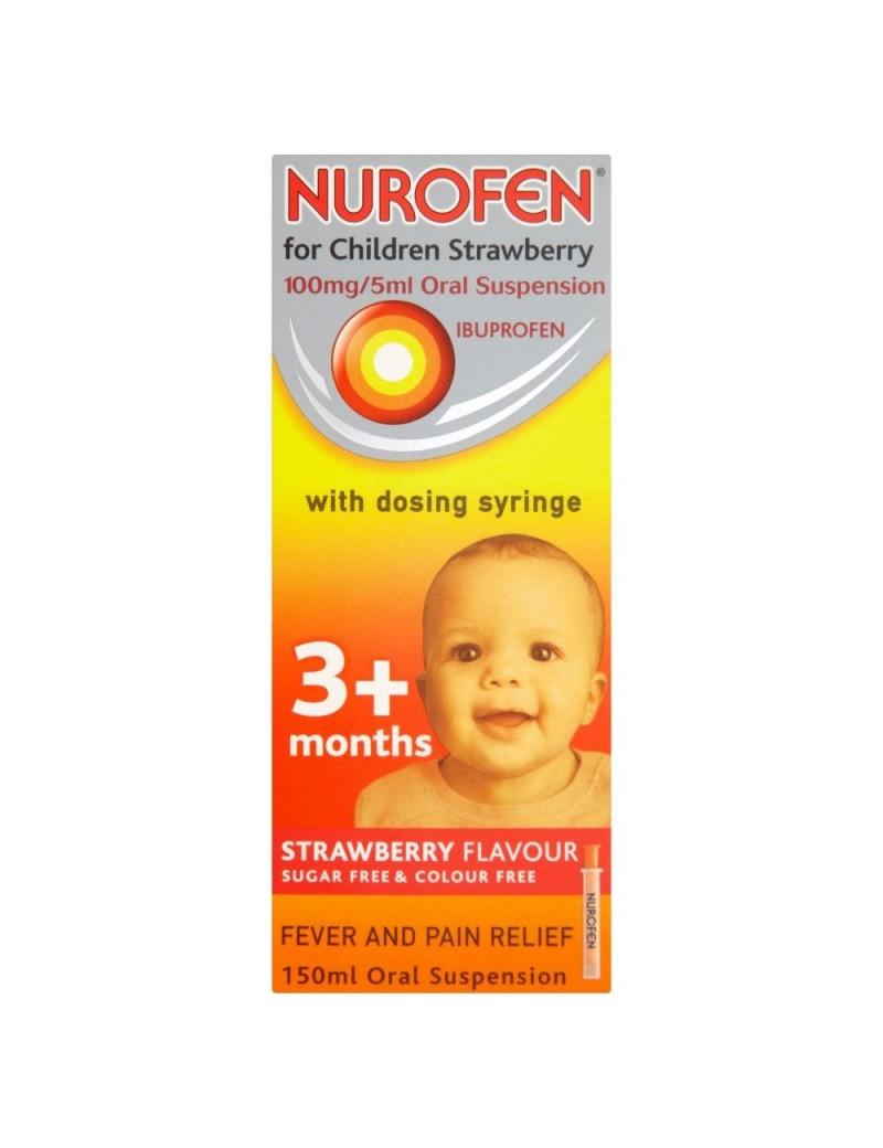 Nurofen 3+ Months Strawberry