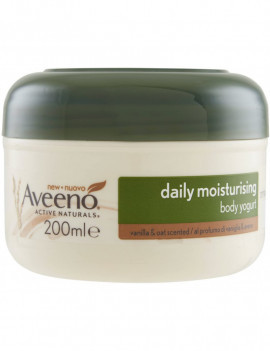 Aveeno Daily moisturising body yogurt vanilla and oat scent