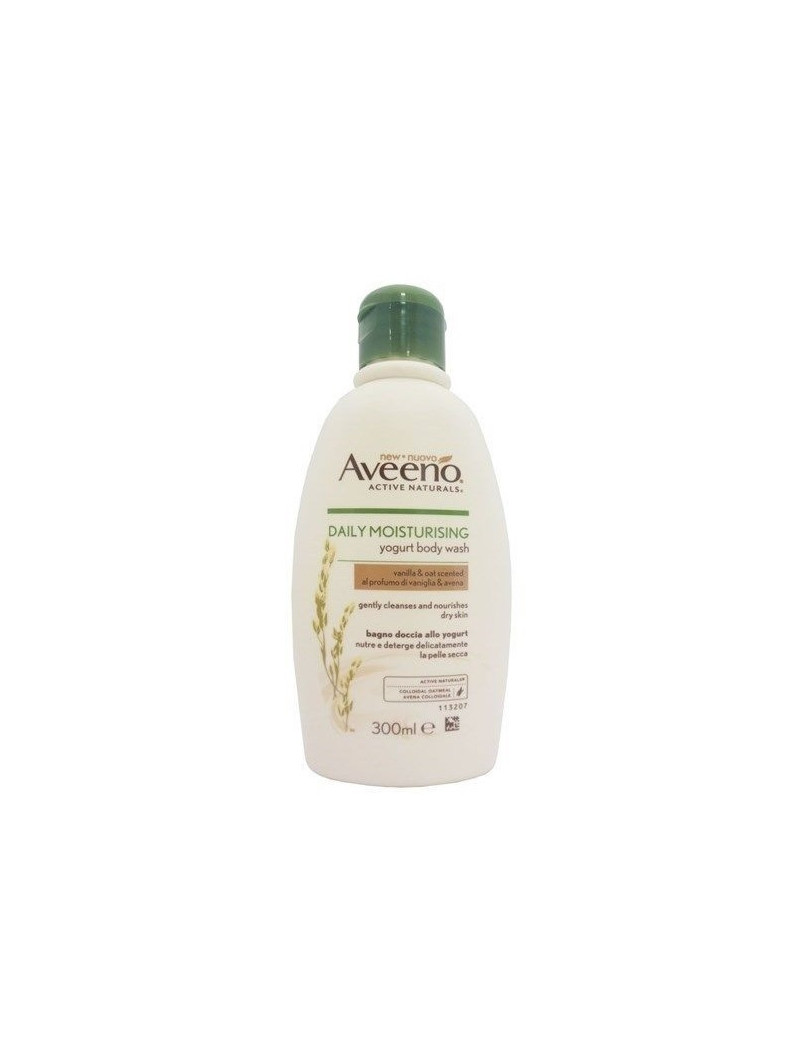 Aveeno Daily Moisturising yogurt body wash vanilla and oat scent