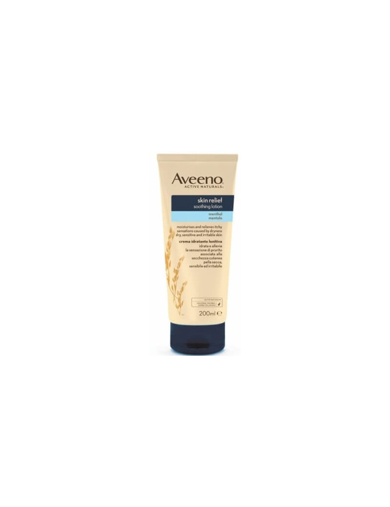 Aveeno skin relief soothing lotion menthol