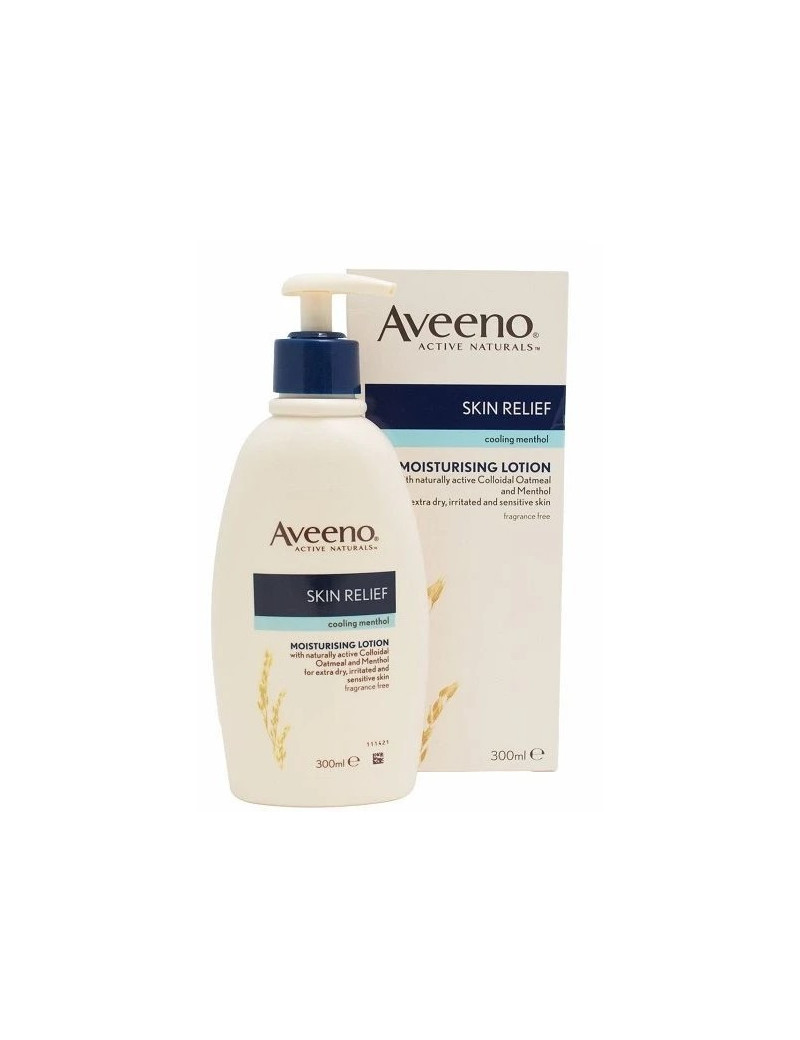 Aveeno Skin Relief cooling mentol moisturising lotion