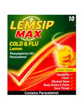 Lemsip Max Cough & Cold