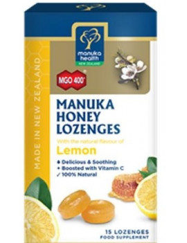 Manuka Health - Honey Lozenges - Lemon