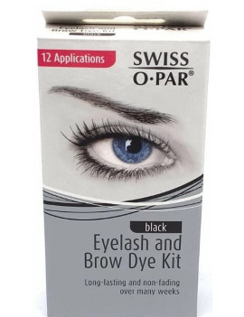 SWISS O PAR Eyelash and Brow Dye Kit