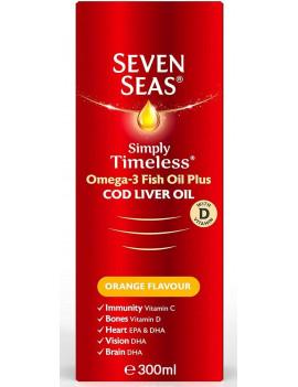 Pure Cod Liver Oil Orange Flavour