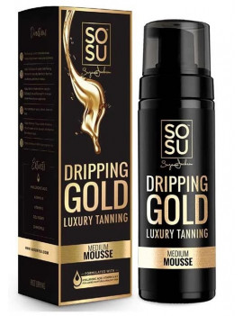 SoSu Dripping Gold Luxury Tan Mousse