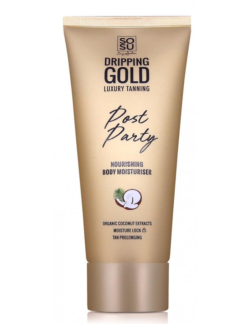 SoSu Dripping Gold Post Party Nourishing Body Moisturiser
