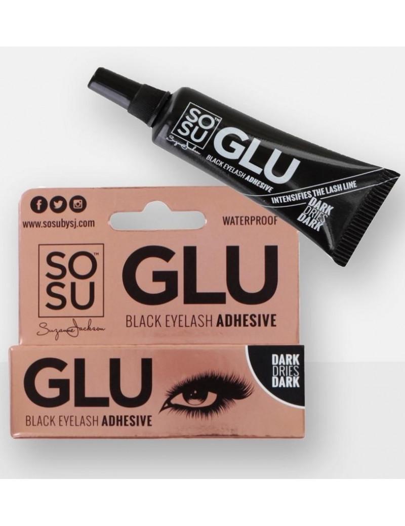 SoSu Black Eyelash Adhesive Waterproof