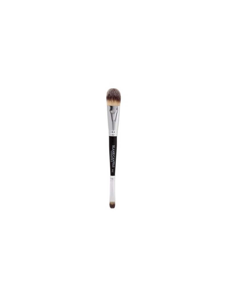 Blank Canvas Double Ended Foundation/Concealer Brush F02