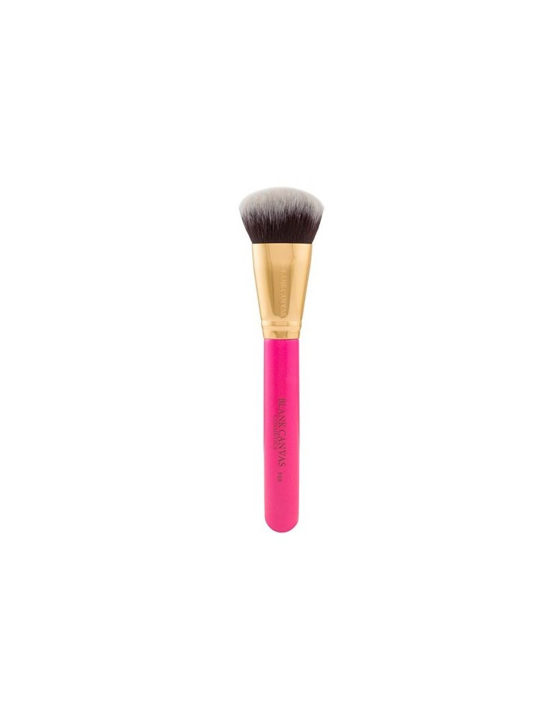 Blank Canvas Bevelled Foundation/Contour Brush F06