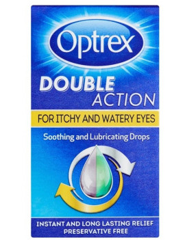 Optrex Double Action Drops For Itchy And Watery Eyes