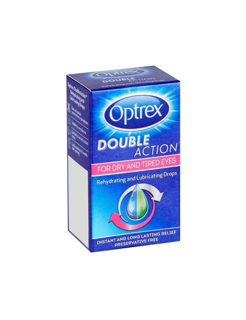 Optrex Double Action For Dry And Tired Eyes