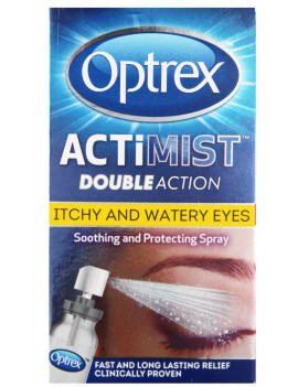 Optrex ActiMist Double Action For Itchy And Watery Eyes