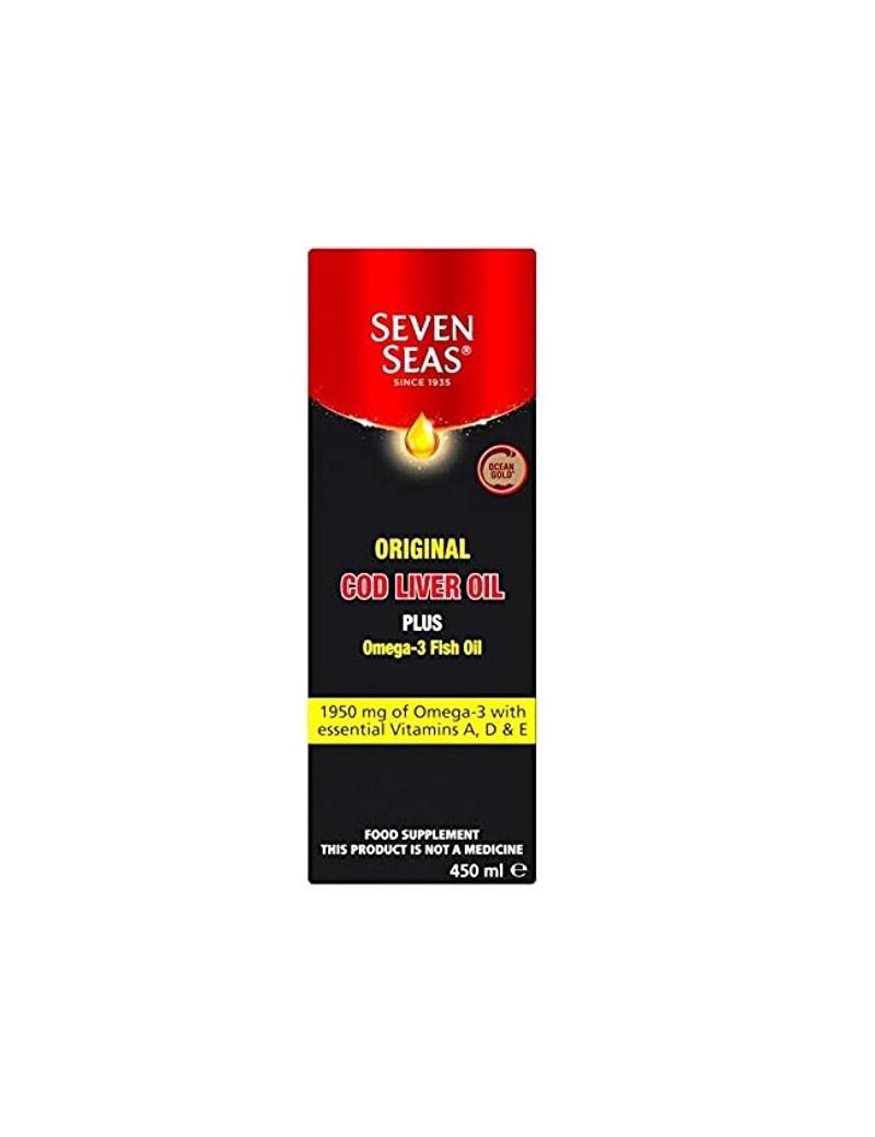 Pure Cod Liver Oil Liquid