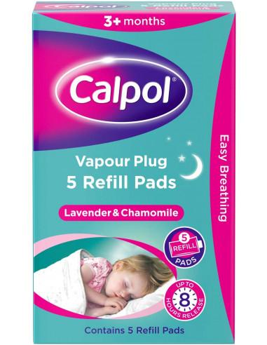 Calpol Vapour Plug 5 Refill Pads