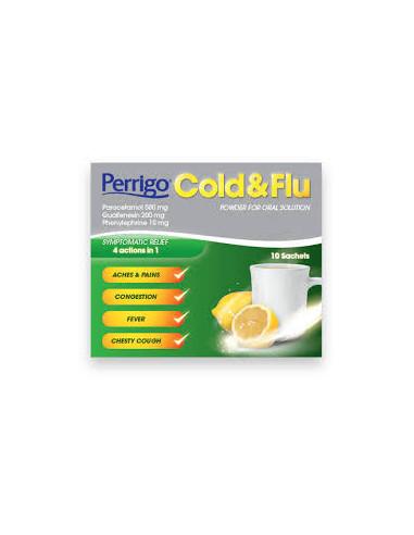 Perrigo Cold & Flu Sachets