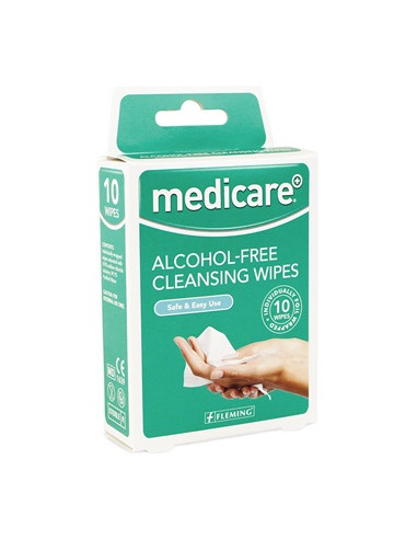 Medicare Alcohol Free Cleansing Pads