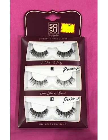 SoSu Synthetic Fibre Lash 'Act like a...