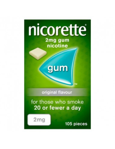 Nicorette 2mgs Classic Gum