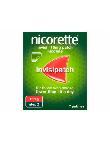 Nicorette 15mg Invisi Patch