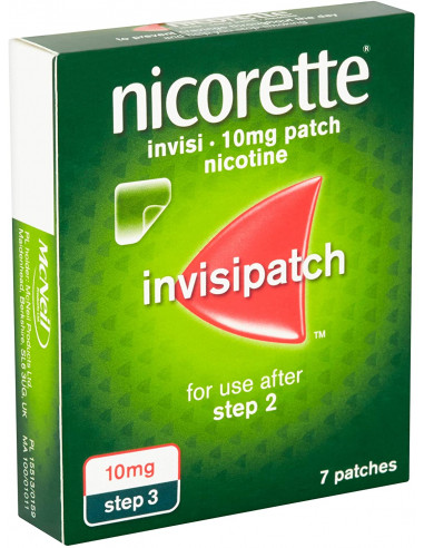 Nicorette Invisi Extra Strength 10mg Patch
