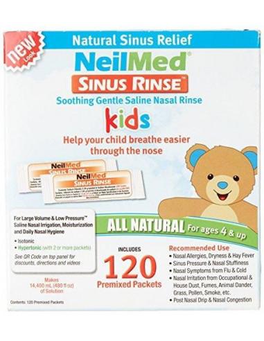 NeilMed Sinus Rinse Kids - 120 Premix...
