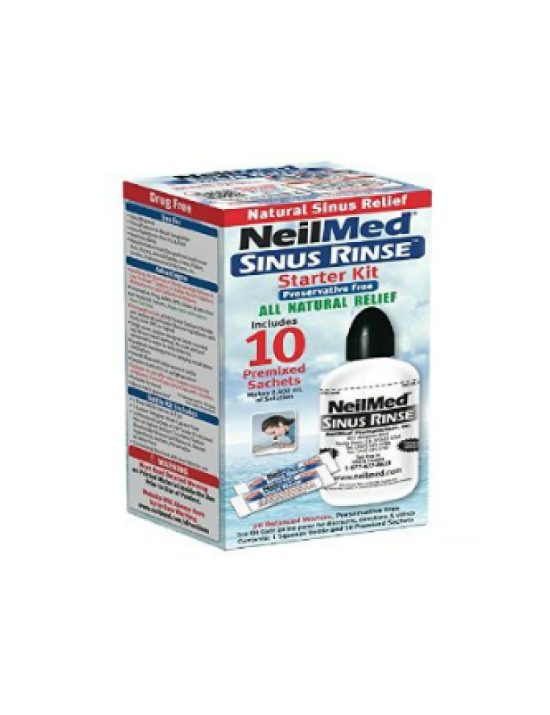 Neilmed Sinus Rinse Starter Kit Bottle