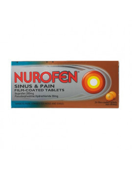 Nurofen Sinus And Pain Film-Coated Tablets