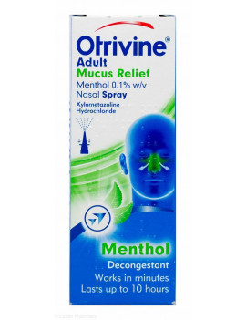 Otrivine Adult Mucus Relief Spray