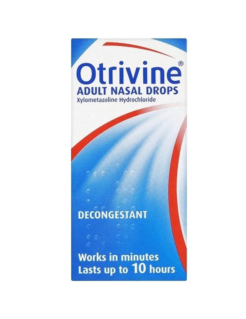 Otrivine Adult Nasal Drops