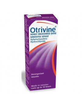 Otrivine Adult Sinusitis Nasal Spray