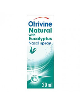 Otrivine Natural Nasal Spray Eucalyptus