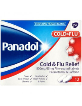 Panadol Cold/Flu Relief Tablets