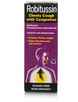 Robitussin Chesty Cough With Congestion