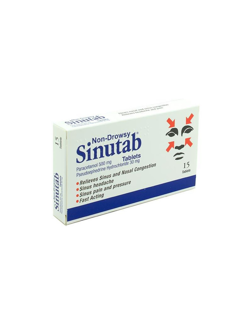 Sinutab Tablets