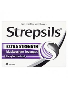 Strepsils Extra Blackcurrant