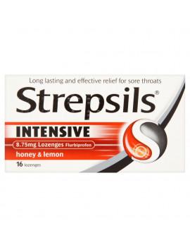 Strepsils Intensive Honey & Lemon