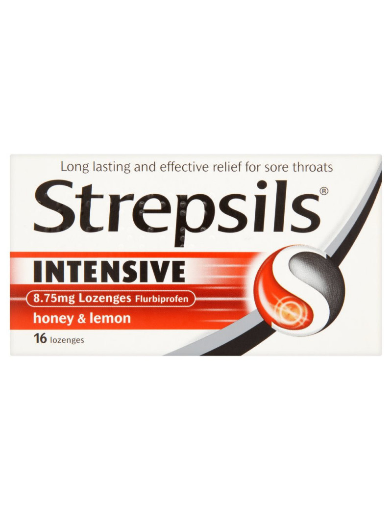 Strepsils Intensive Honey & Lemon