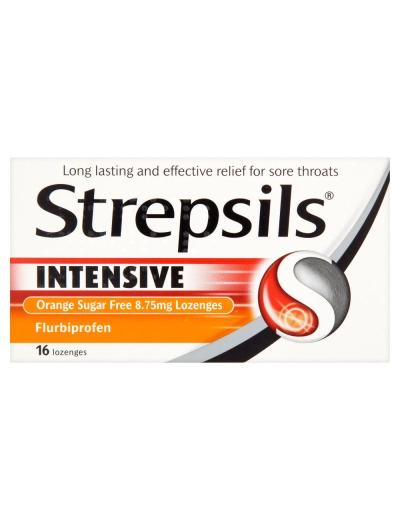 Strepsils Intensive Orange